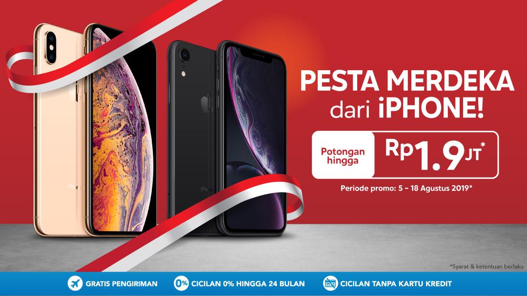 Promo Merdeka iPhone