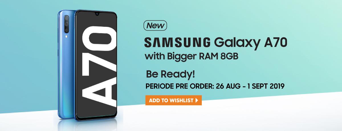 BE PREPARE! Samsung Galaxy A70 8GB