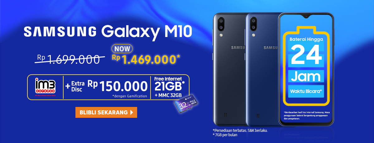 PROMO! Samsung Galaxy M10