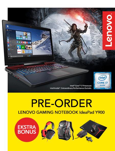 Pre Order Lenovo Gaming Ideapad Y900