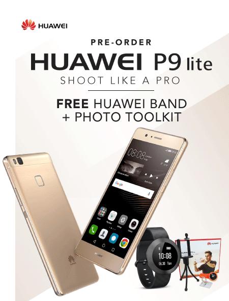 Preorder Huawei P9 Lite