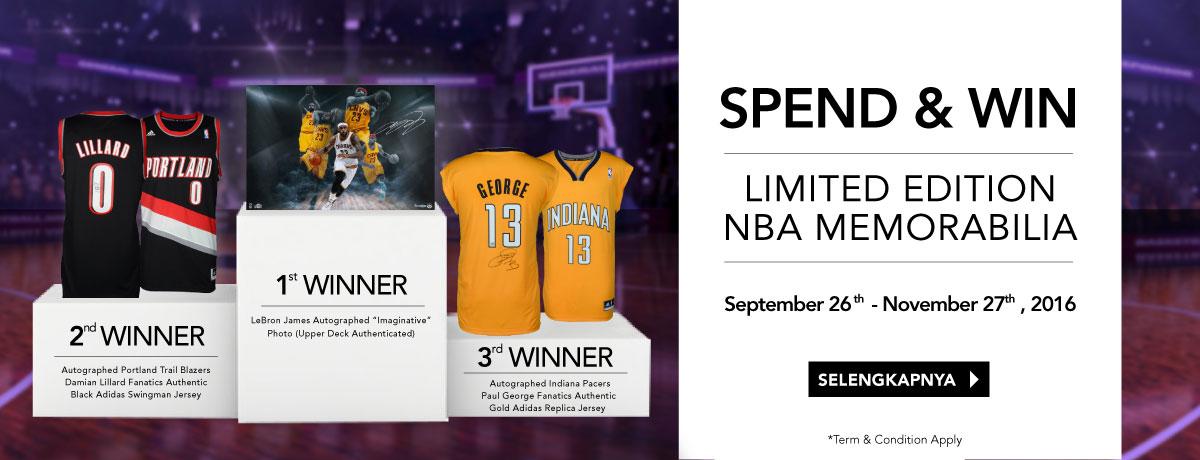 NBA Store Top Shopper