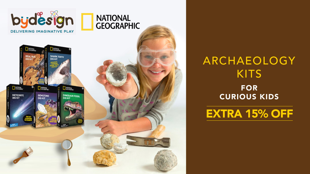National Geographic Dig Kit Extra 15% Off