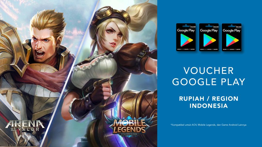 Google Play Indonesia Nominal Mulai Rp150,000