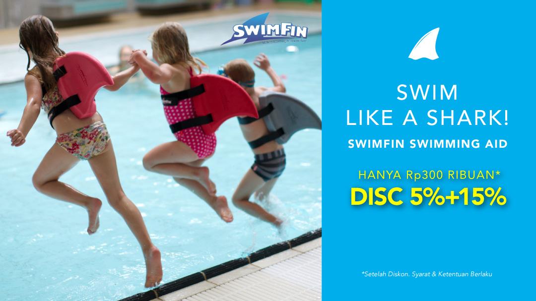 SwimFin Swimming Aid Baby Shark