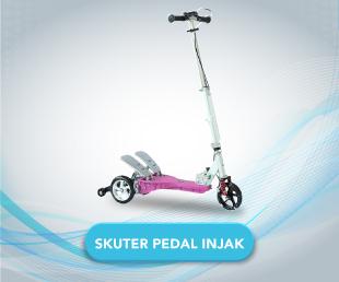 Skuter Micro Pedal Injak Elektrik