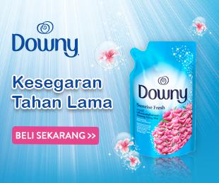 Downy Kesegaran Tahan Lama
