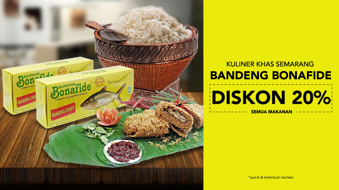 Makanan Khas Semarang : Bandeng Bonafide