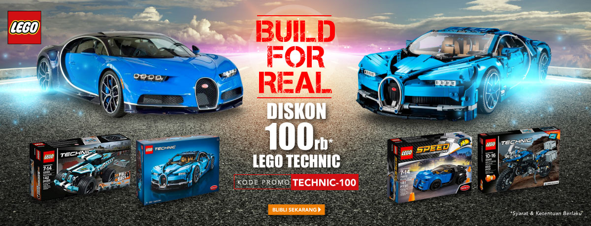Promo Lego Technic Bliblicom