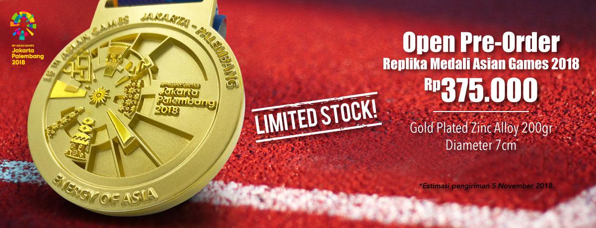 Asian Games Complete Merchandise