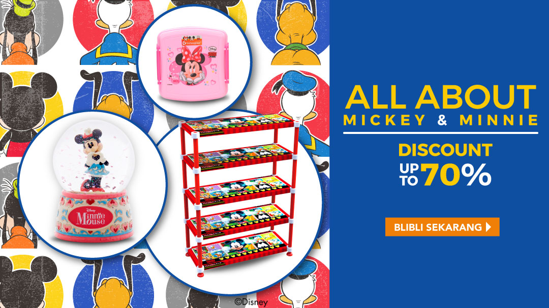 Disney Mickey & Minnie Mouse Disc. up to 70%