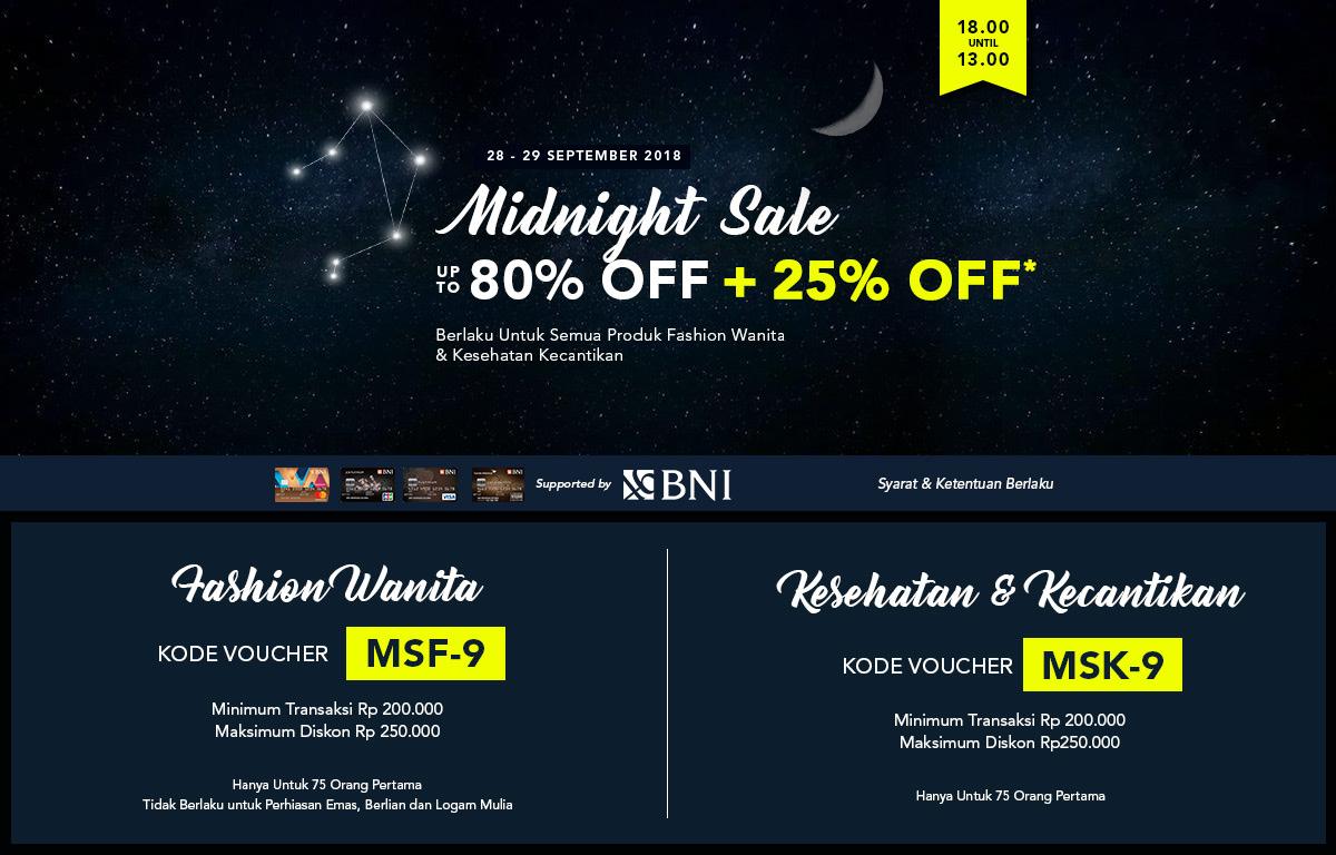 BNI Midnight Sale