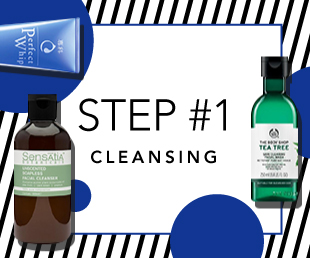 Cleansing · treatment · moisture