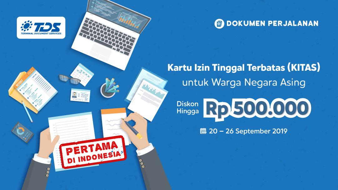 Buat KITAS di Blibli.com Hemat Hingga Rp 500,000