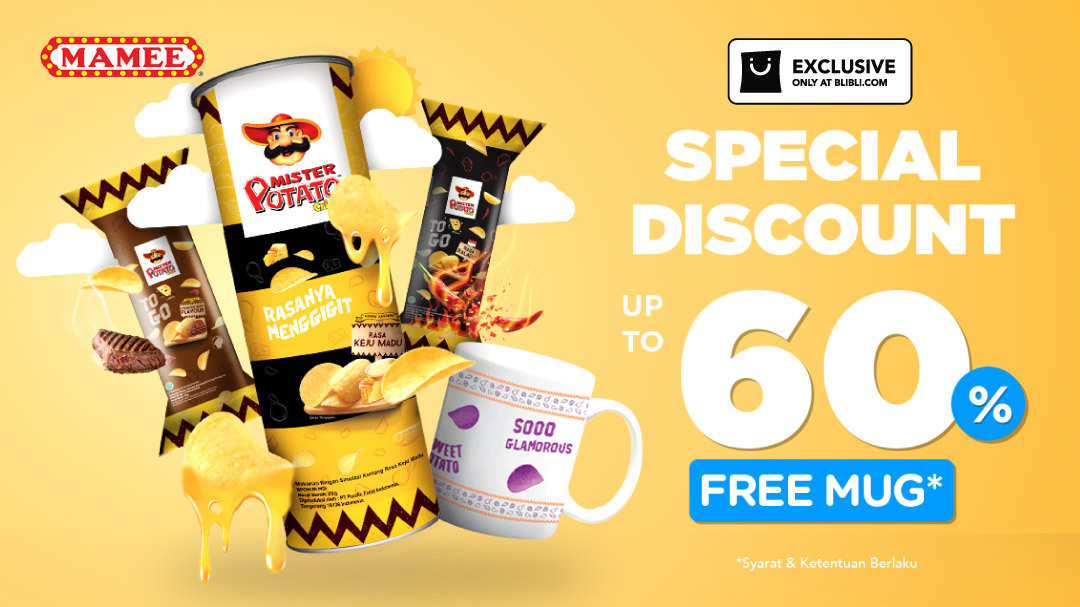 Mamee Special Discount Up to 60% & Get Free Mug!