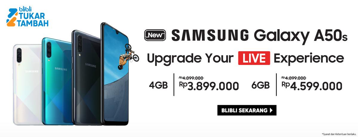 Tukar Tambah Samsung Galaxy A50s