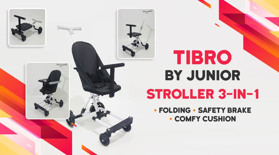 Tibro by Junior - Stroller 3-in-1 Blibli.com