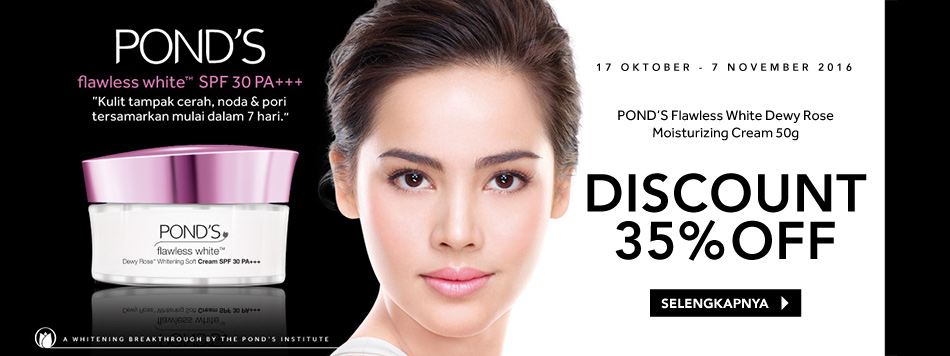 Pond's Flawless White 35% off