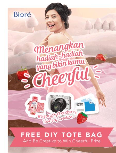 Biore Free DIY Tote Bag
