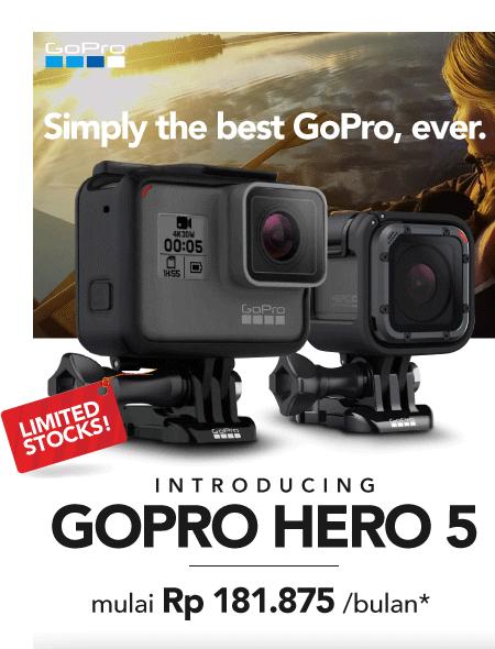New GoPro Hero 5