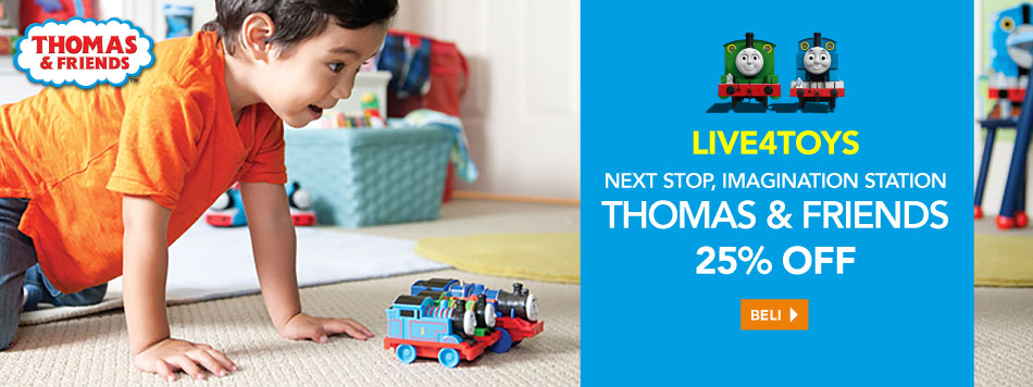 Thomas & Friends Up To 25%