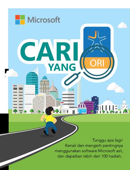 Microsoft Cari Yang Ori