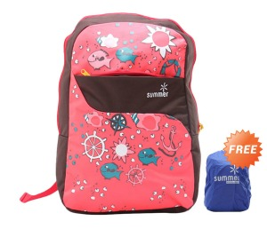 Summer Backpack 56% OFF + FREE Rain Cover
