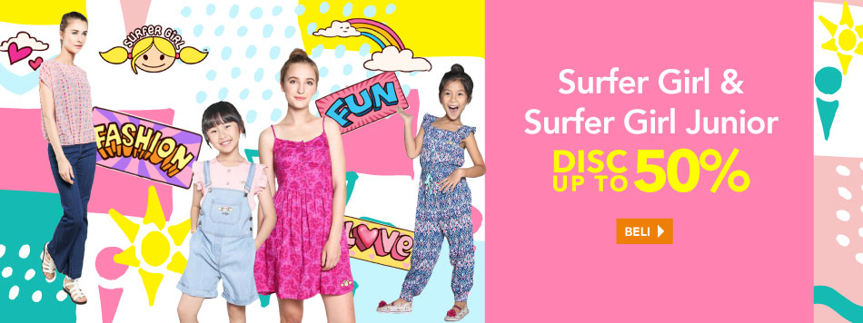 Surfer Girl Up To 50% OFF