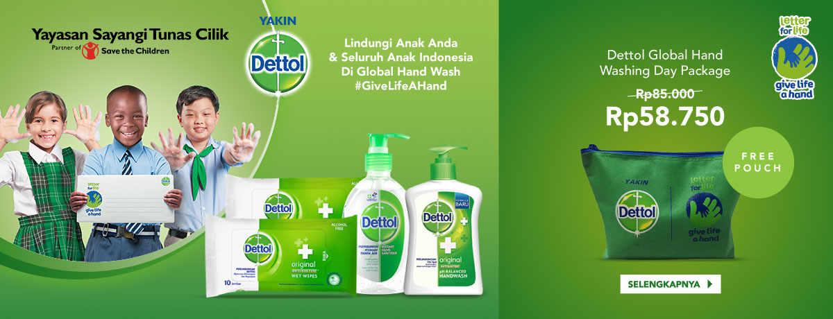 Dettol Global Hand Washing Day
