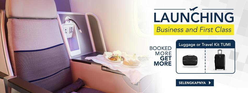 Hasil gambar untuk site:blibli.com tiket pesawat first class