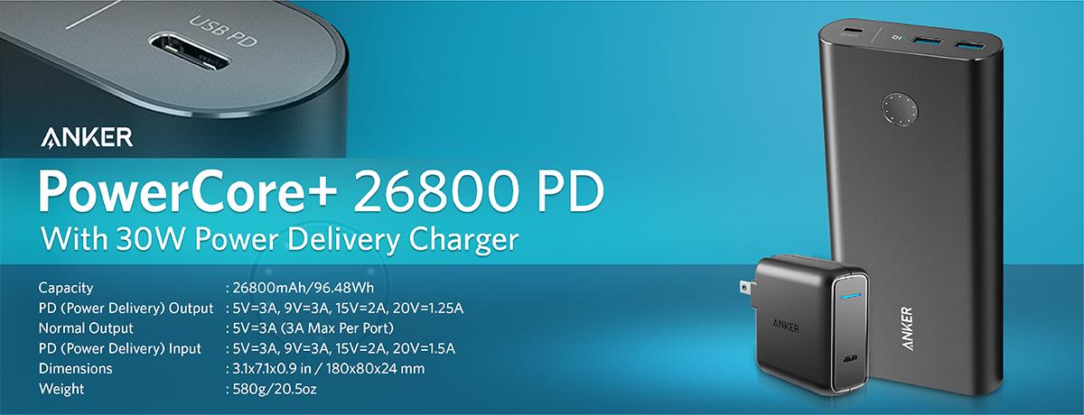 Anker Powercore+ 26800