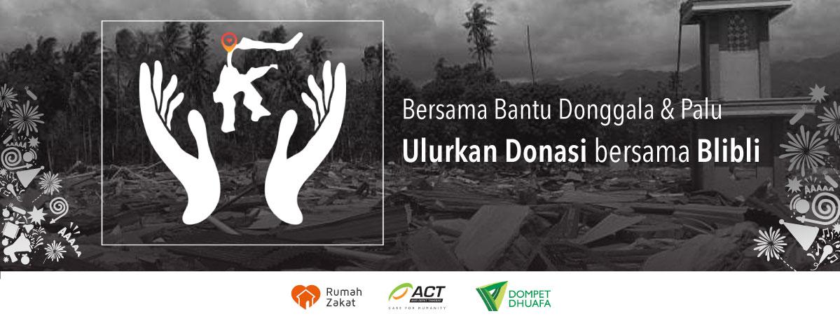 Donasi Untuk Korban Gempa Tsunami Palu Donggala Blibli Com