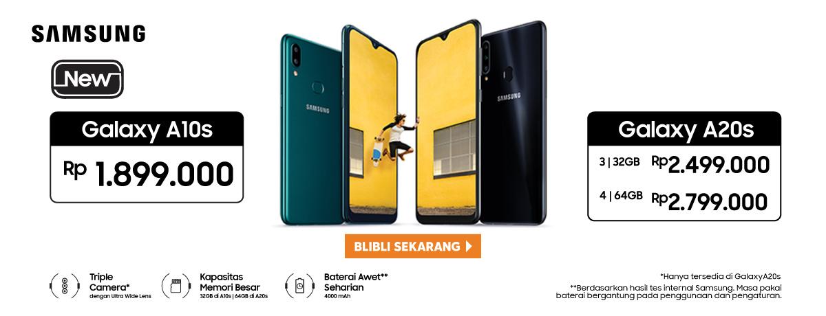 Samsung Galaxy A10s dan A20s