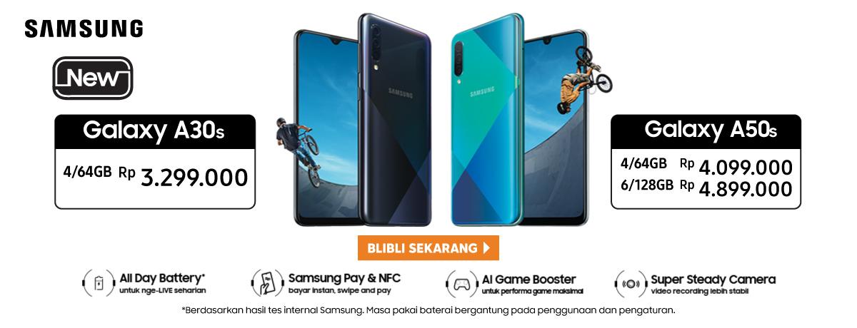 Samsung Galaxy A30s dan A50s