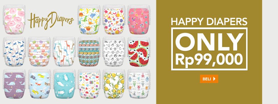 Happy Diapers Rp99,000