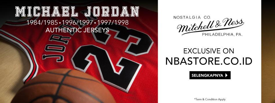 Michael Jordan Authentic Jersey