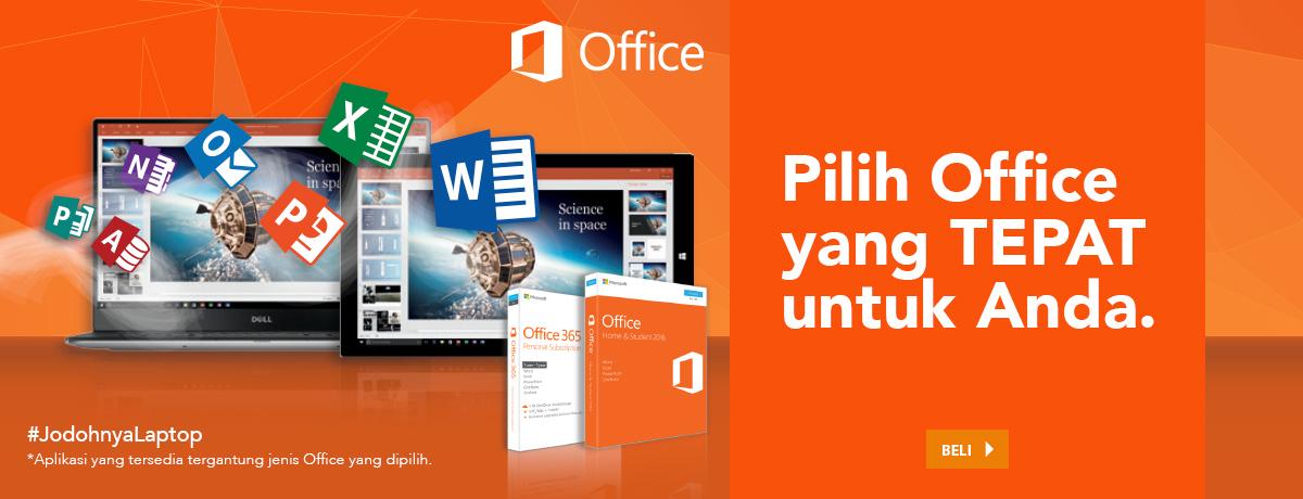 PIlihan Office Yang Tepat Untuk AndaOffice 365