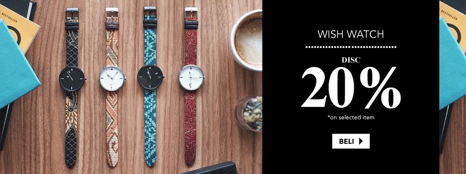 Wish Watches 20% off