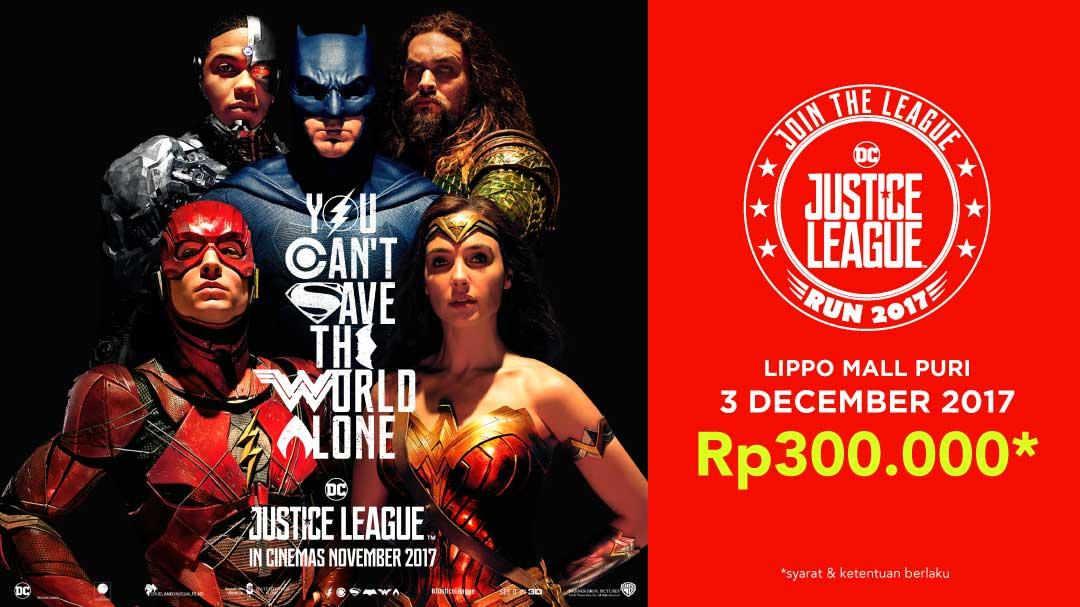 Justice League Run 2018