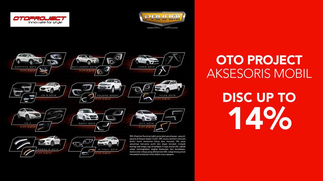 Penawaran terbaik dari Otoproject untuk aksesoris mobil di Blibli.com