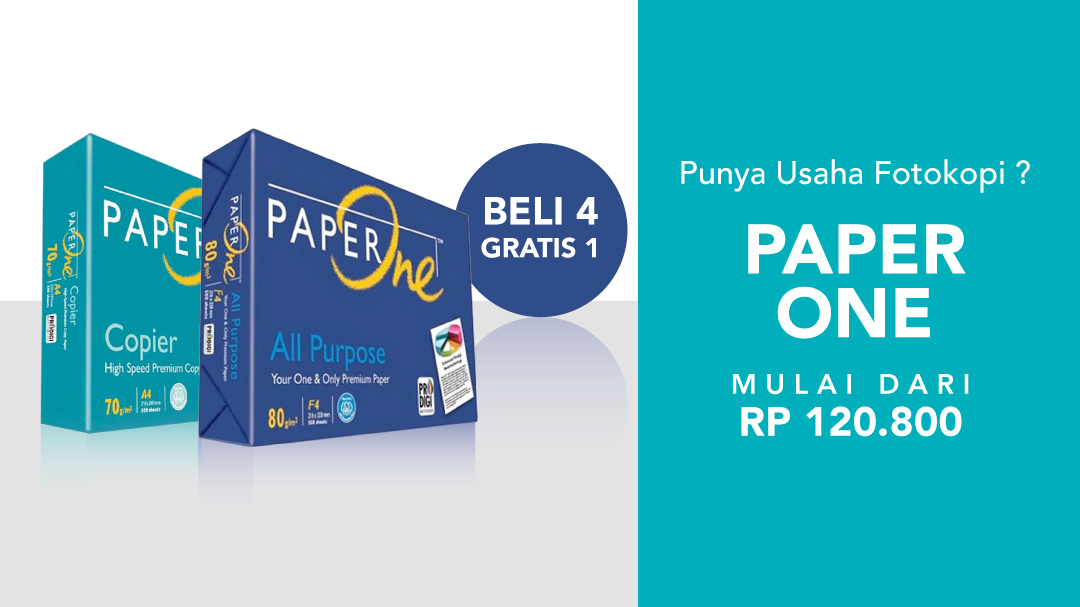 Paper One Buy 4 Get 1 FREE