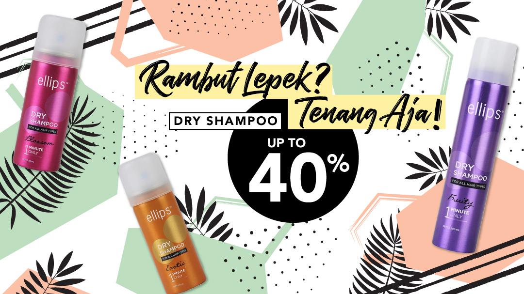 Dry Shampoo Up To 40%