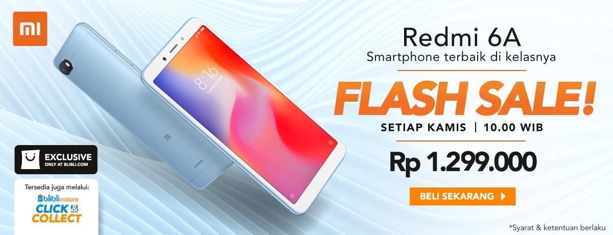 Flash Sale Redmi 6A