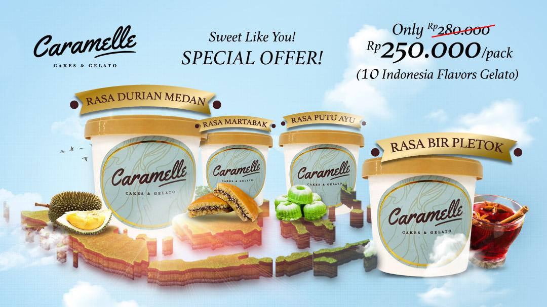 Caramelle Gelato Special Offer