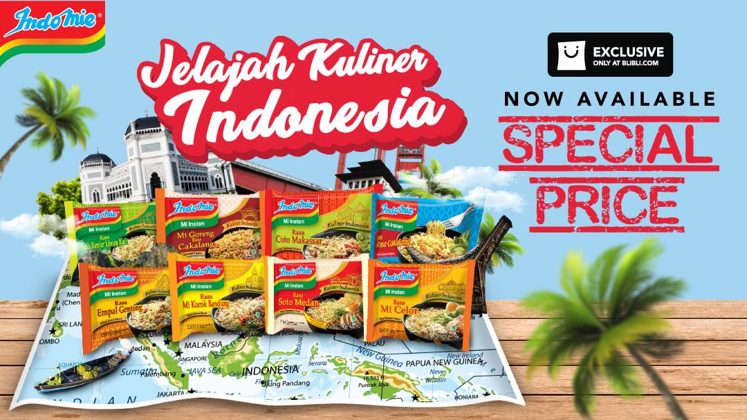 Promo Exclusive Launch - Indomie Jelajah Rasa Indonesia