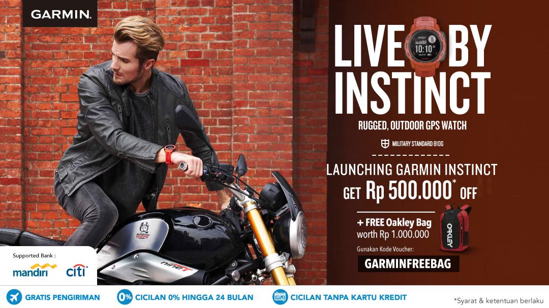 Launching Garmin Instinct