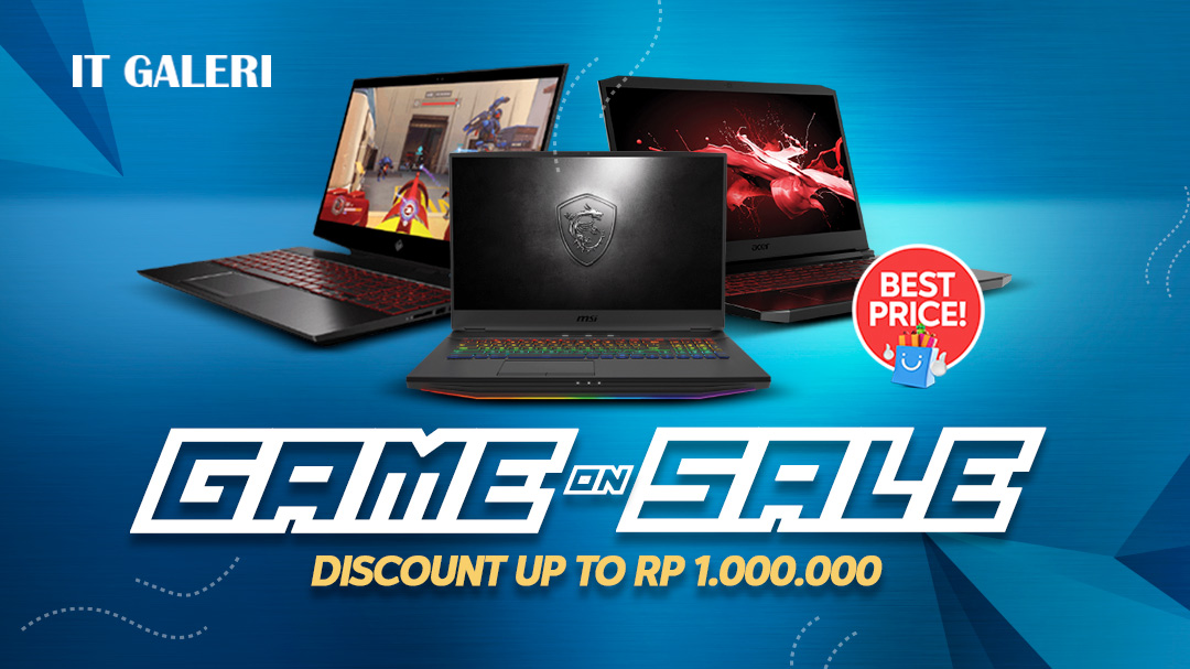 Acer Game On Sale by IT Galeri