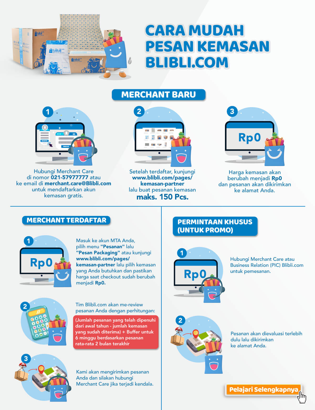 Hasil gambar untuk gratis packaging blibli