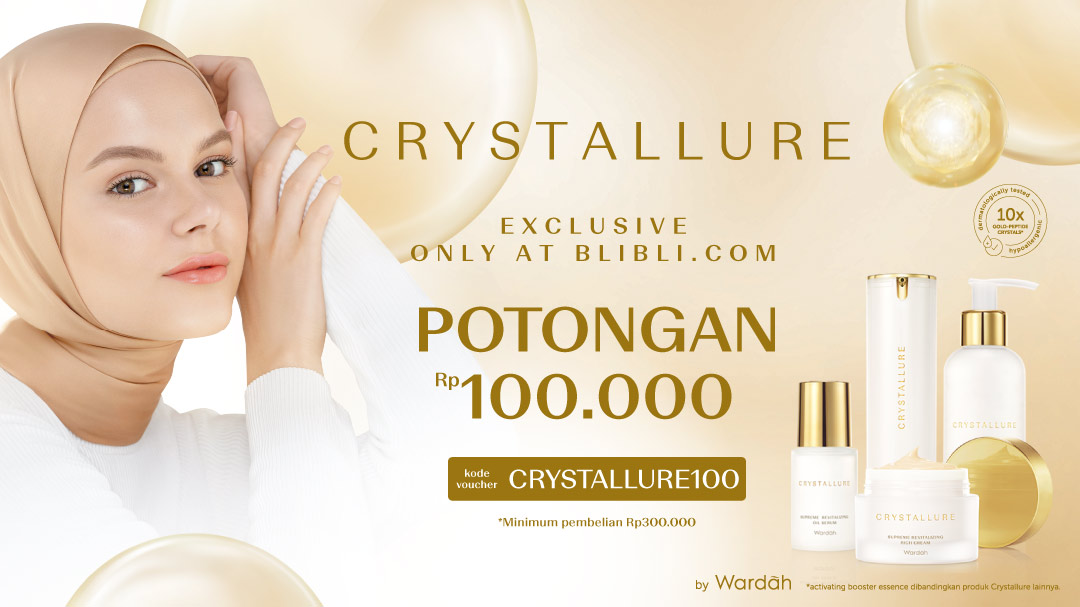 Crystallure by Wardah Launching
