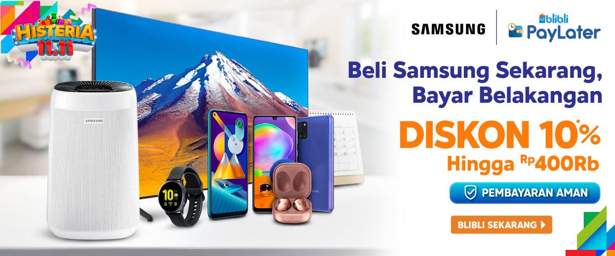 Beli Samsung Sekarang Bayar Belakangan